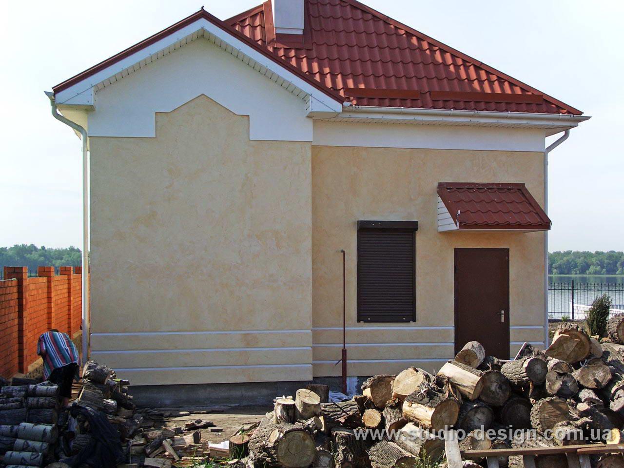 Загородный дом gt фасад